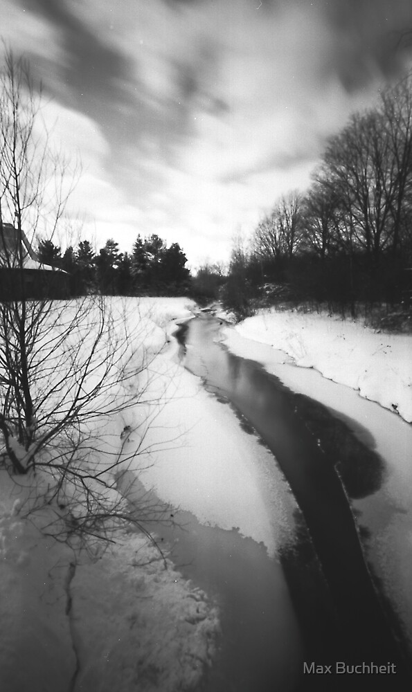 Pinhole Study: Winter in Waterloo No. 1 by Max Buchheit