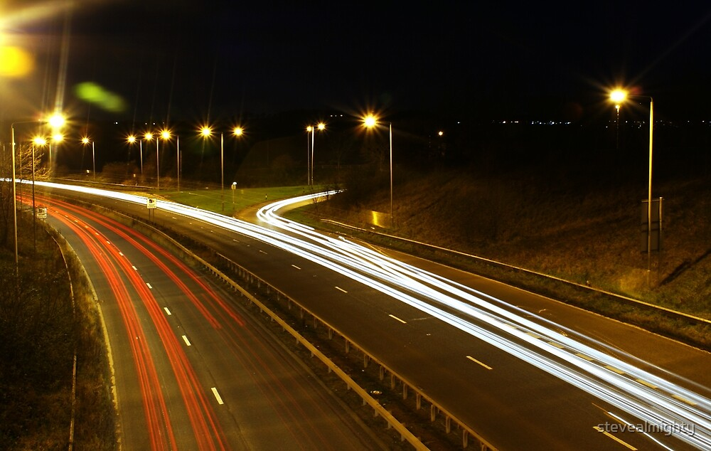 Light Trails by stevealmighty