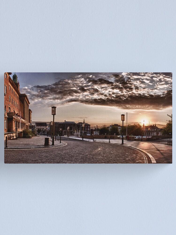 Alternate view of Solstice Sunrise #2 Canvas Print