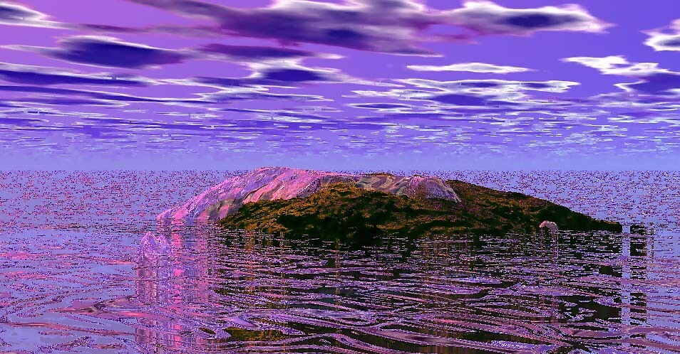 PURPLE SKY  by ALFRED AMBROSE