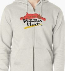 Time For Pizza Zipped Hoodie