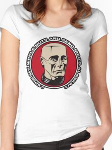 Kryten - Spin My Nipple Nuts Women's Fitted Scoop T-Shirt