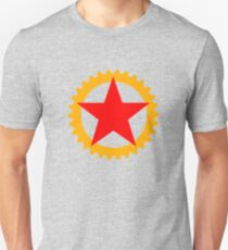 Star and cog Unisex T-Shirt