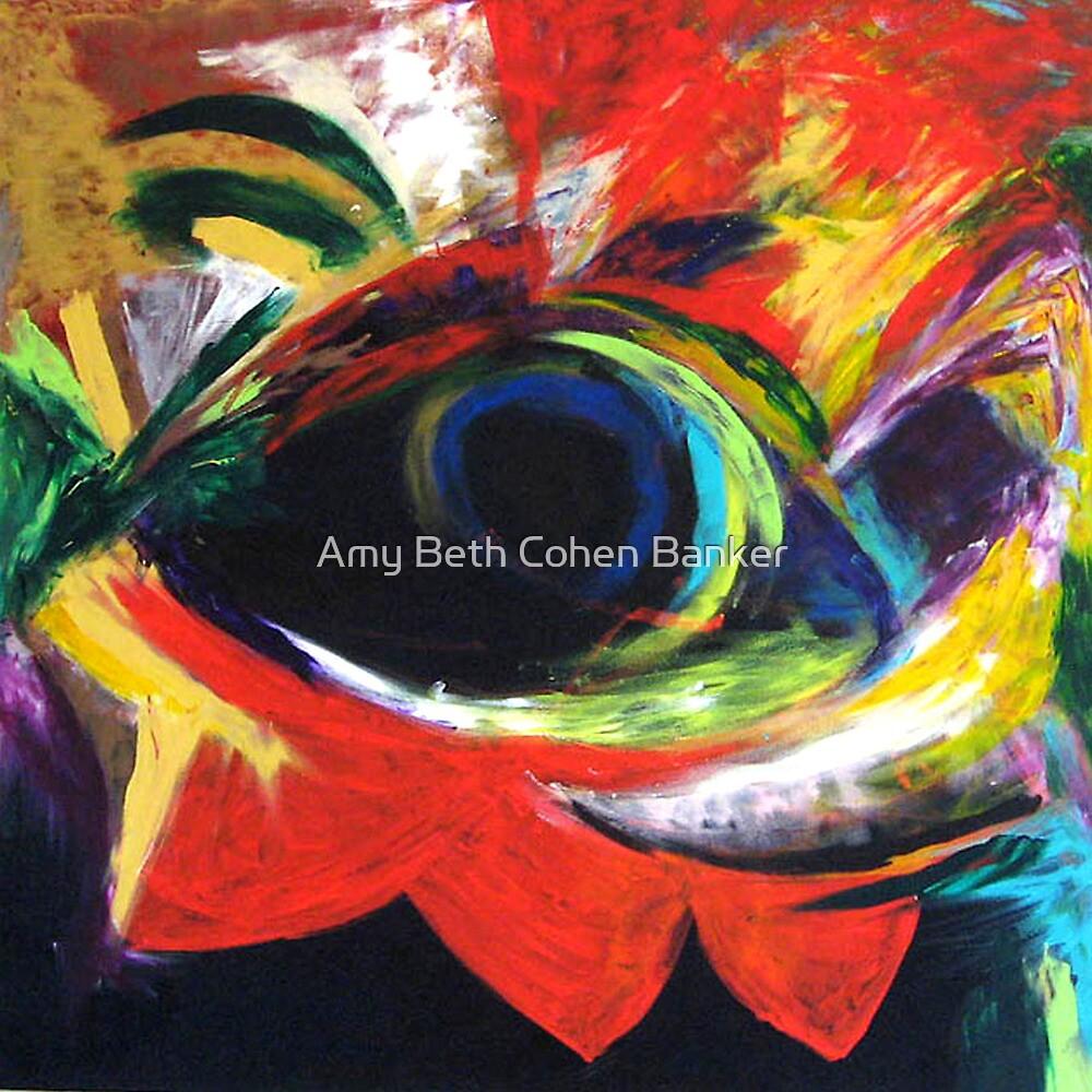 MARIGOLD EYE by Amy Beth Cohen Banker