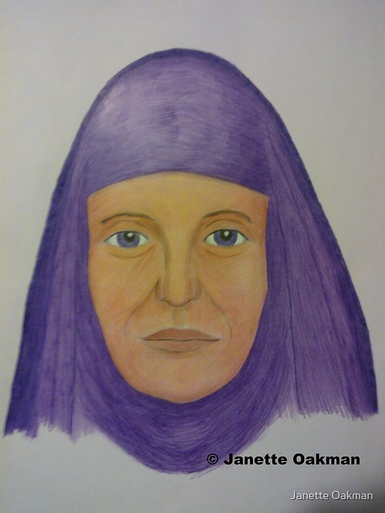 Purple Lady by Janette Oakman