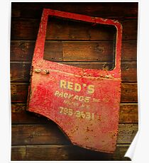 Reds Advertising Poster