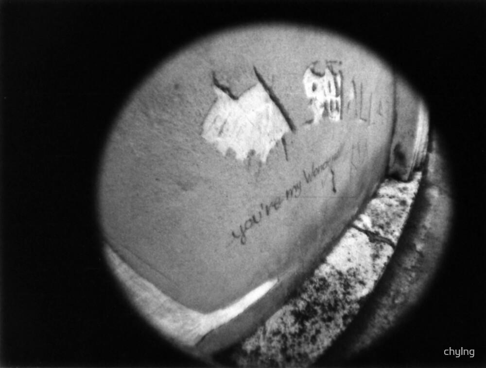 You're My Wonder (Graffiti) Wall - Lomo by chylng