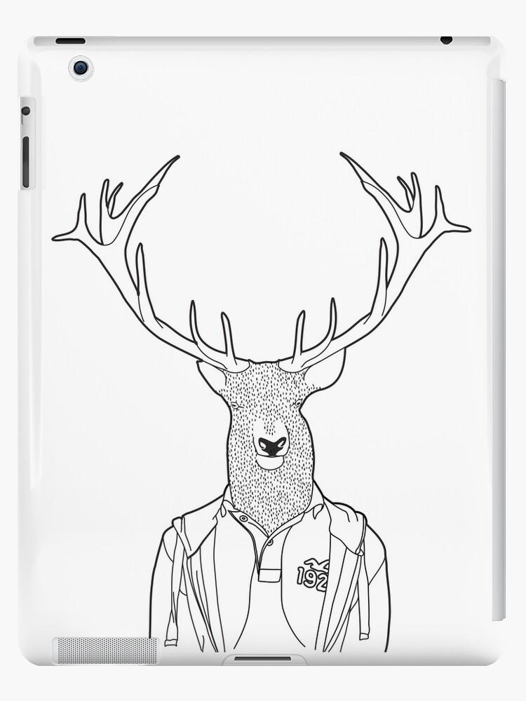 Urban Deer iPad by GeorgeSmithArts