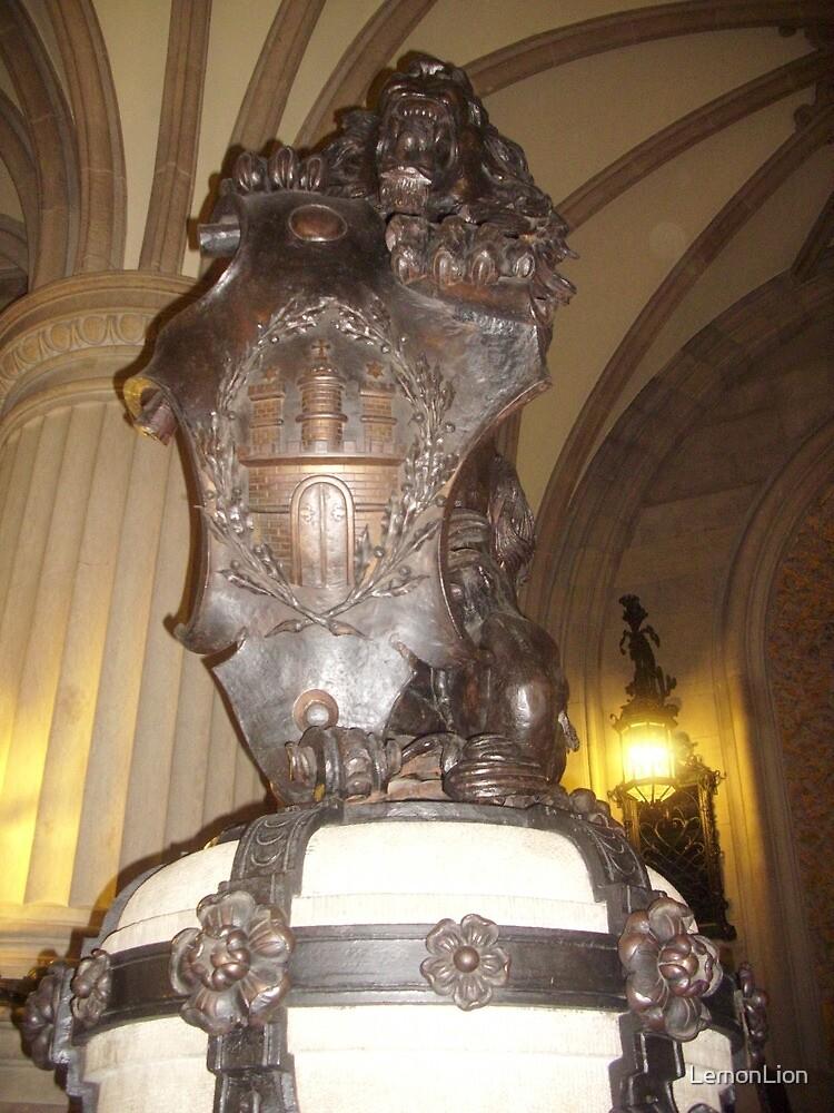 The great Lion of Hamburg by LemonLion