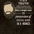 A beardy truth by SixPixeldesign