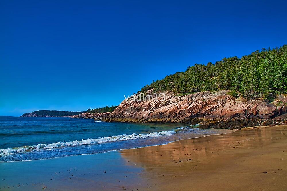 USA. Maine. Acadia National Park. Sandy Beach. by vadim19