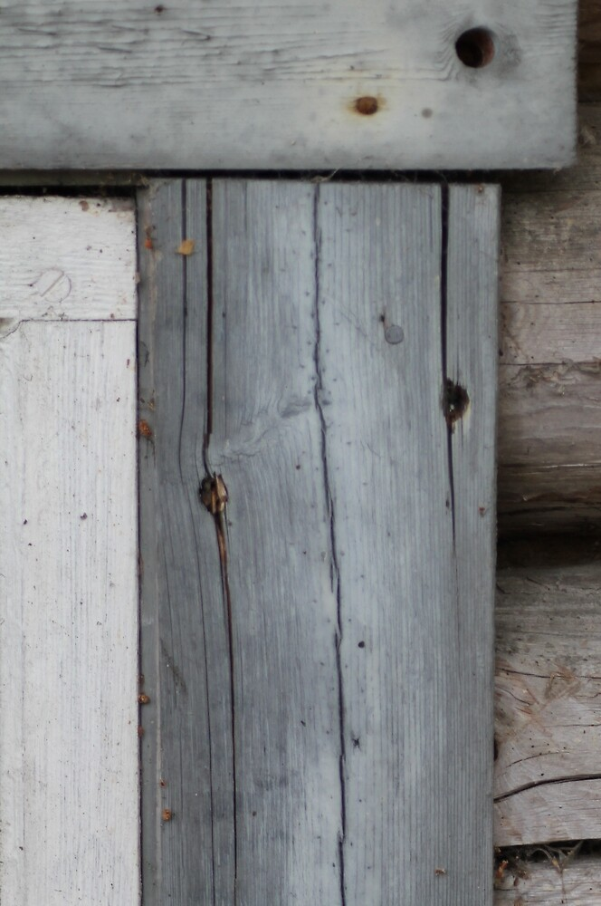 Detail of old house by UpNorthPhoto