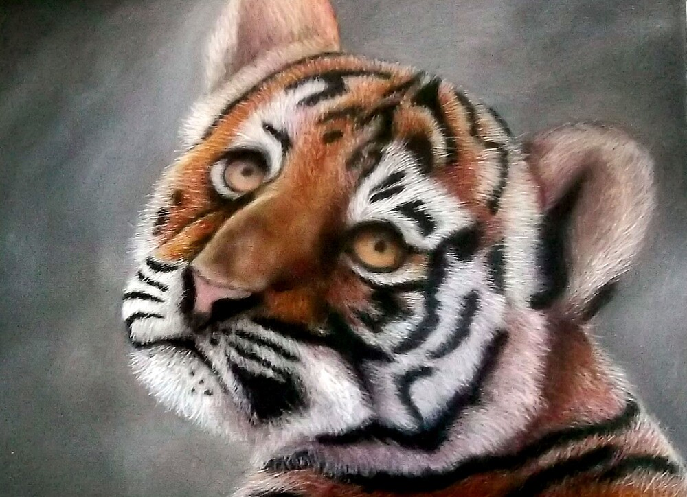 Tiger Cub by adriantj