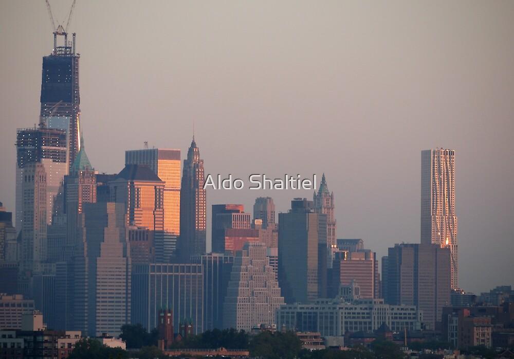 Midtown Manhattan, dawn by Aldo Shaltiel