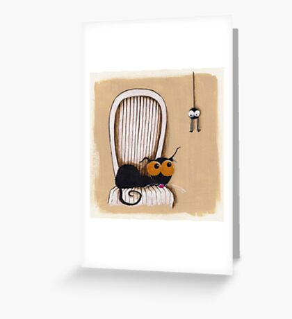 Oh no... Not you again Greeting Card