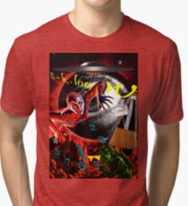 entropy at the end of time Tri-blend T-Shirt