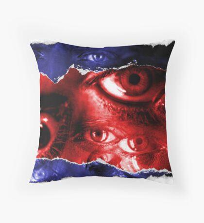 metropoleyes Throw Pillow