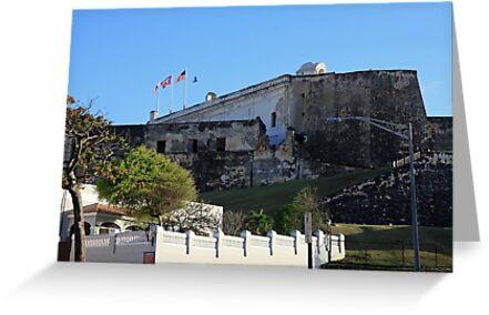 La Fortaleza in San Juan Puerto Rico by renprovo