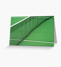 Tennis Net Greeting Card