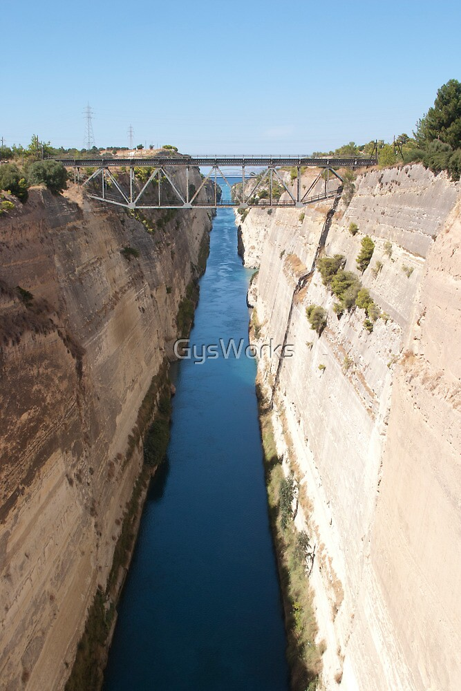 Corinth Canal by GysWorks