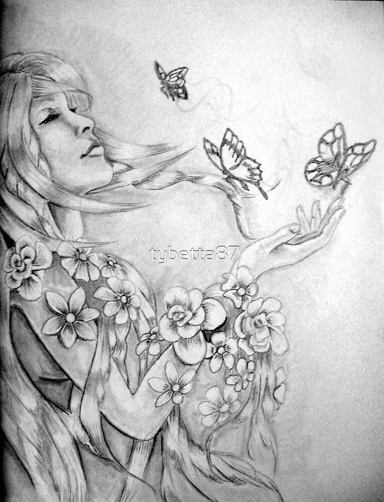 Beauty and the Butterflies 1 by tybetta87