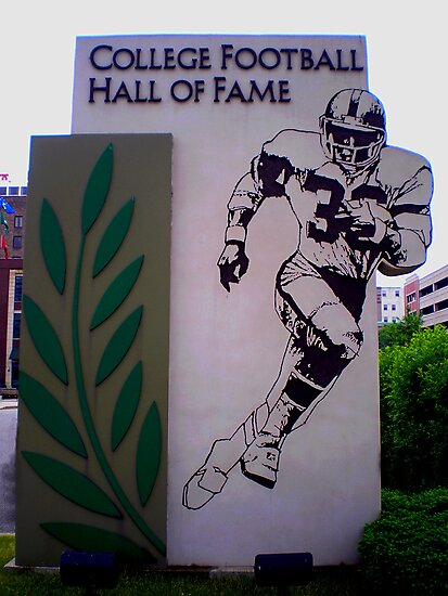 COLLEGE FOOTBALL HALL OF FAME SOUTH BEND INDIANA MAY 2007 by photographized