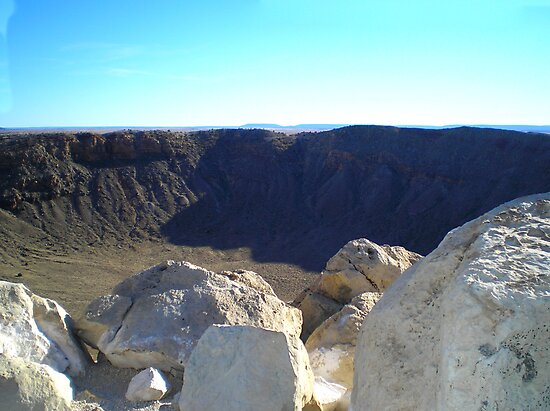 METEOR CRATER ARIZONA MARCH 2007 by photographized