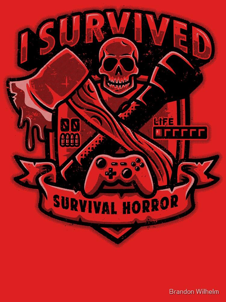 Survival Horror Crest T-Shirt