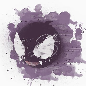 Graffiti Gastly  by niterune