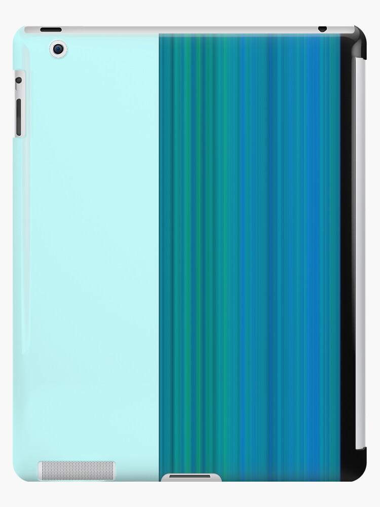 Flatlands Blue iPad by PSLongley