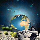 Earth bathing by Susan Ringler