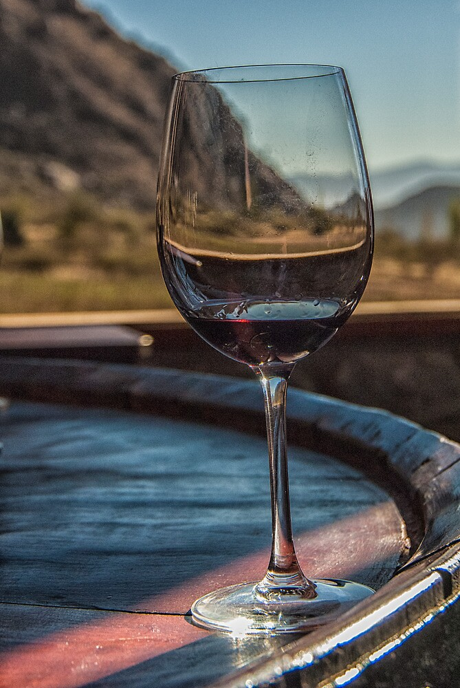 Through the Wine Glass by photograham