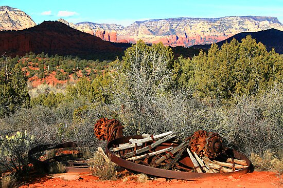 RED ROCK STATE PARK JANUARY 2008 by photographized