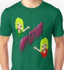 A Happy Birthday T-shirt for Girls Unisex T-Shirt