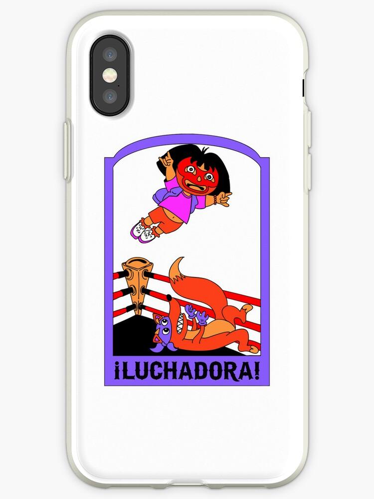 Luchadora iPhone by HoboTrashcan