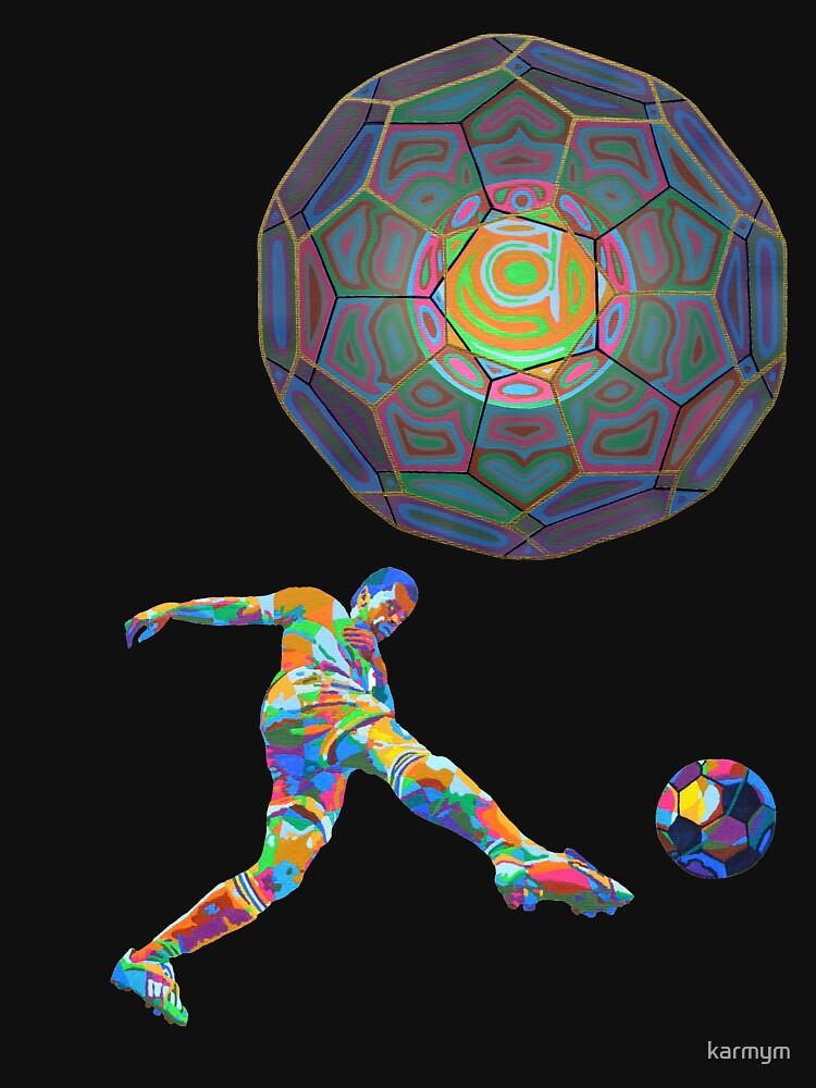 Soccer Shoot - 2012 as tshirt by karmym
