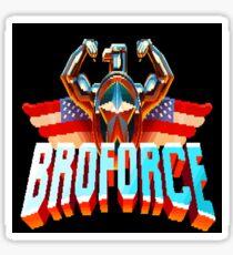 Broforce Logo  Sticker