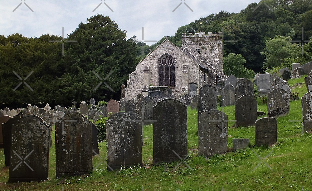 St Brynachs, Nevern by Yampimon
