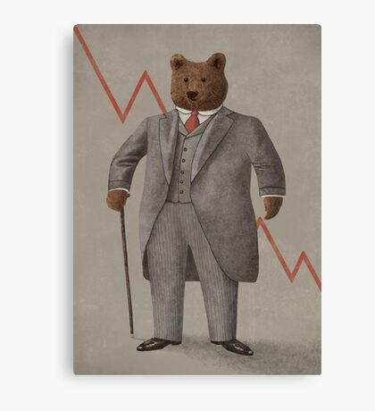 Bear Market  Canvas Print