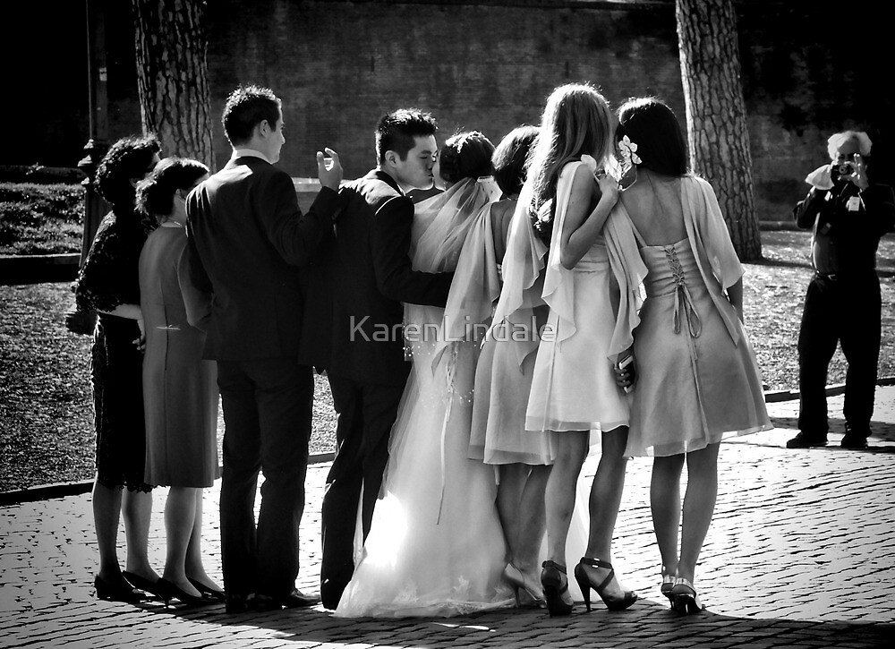 Kiss the Bride by KarenLindale