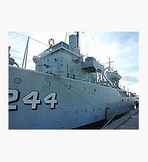 HMAS Castlemaine - Gem St. Pier, Williamstown. Vic Photographic Print