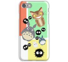 Totoro and Friends iPhone Case/Skin