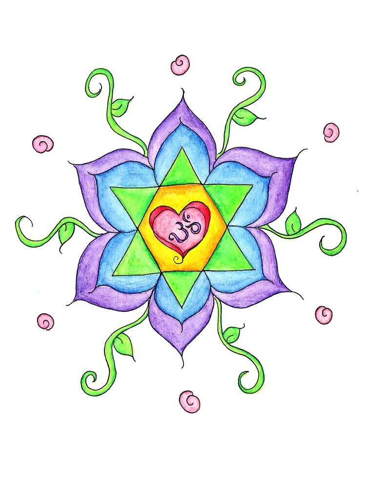 Rainbow Mandala by healeyor