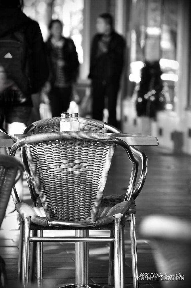 Sidewalk Cafe by Karen E Camilleri