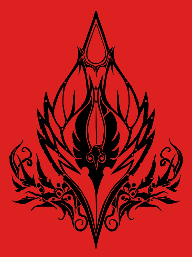 Blood Elf Crest Unisex T Shirt By Kobomino Redbubble