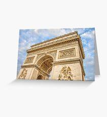 Arc de Triumph, Paris Greeting Card