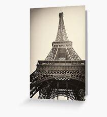 Eiffel Tower, Paris Greeting Card