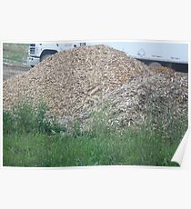 Mulch pile Poster