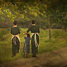 Amish Girls by greyrose