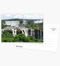 Iguazu waterfalls Postcards